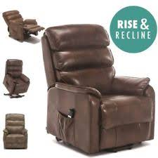 Reclining Leather Armchairs Leather Recliner Chair Ebay