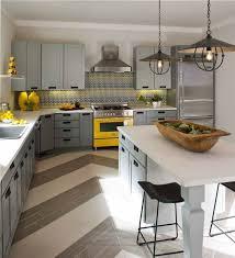lustre moderne cuisine idée relooking cuisine modele de cuisine moderne cuisine gris
