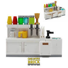 lego kitchen lego kitchen sink cabinets utensils and accessories all new