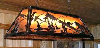 rustic pool table lights stained glass pool table light rustic pool table lights improbable