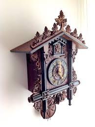 Antique Cuckoo Clock Antique Cuckoo Clock Furderer Jaegler U2013 Black Forest Clock
