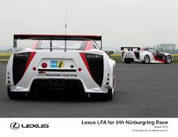lexus lfa race car lfa nurburgring 24h race 2011 toyota uk media site