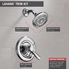 delta faucet t17238 lahara monitor 17 series shower trim chrome