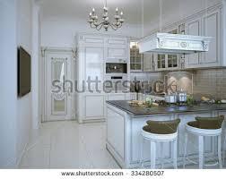 kitchen interior new luxury home stock photo 243653452 shutterstock
