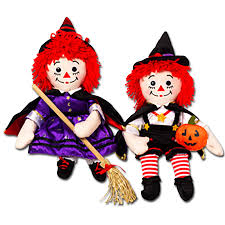 cuddly collectibles halloween cartoon characters in plush toys