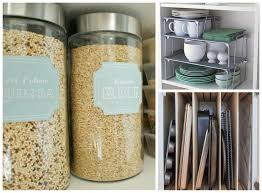 Kitchen Organization Hacks by 10 Kitchen Cabinet Hacks That U0027ll Keep Things Super Organized