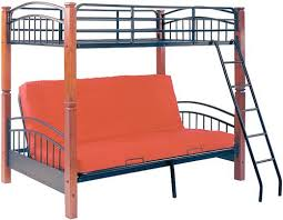 Bunk Bed With Futon Bottom Futon With Bunk Bed On Top Roselawnlutheran