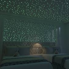 Glow In The Dark Home Decor Amazon Com Glow In The Dark Stars 824 Realistic 3d Stars For