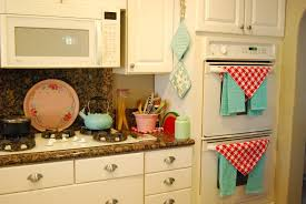 in this vintage kitchen down to the old wood island the vintage