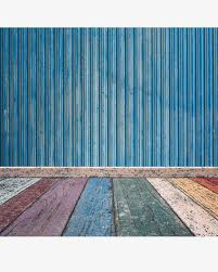 colorful wooden floor blue wooden wall colored wood grain floor