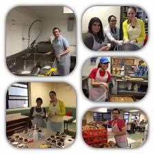 Soup Kitchens In New York by Catholic Charities Junior Board Volunteer With The Us At The