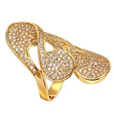 long rings design images New arrival big rings for women setting with cubic zirconia lead jpg
