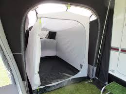 chambre annexe auvent gonflable kampa air 350 pour caravane avec annexe