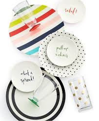 Macys Patio Dining Sets by Kate Spade New York Melamine Collection Dinnerware Casual