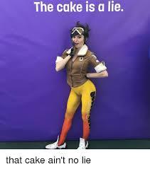 No Lie Meme - the cake is a lie that cake ain t no lie dank meme on sizzle