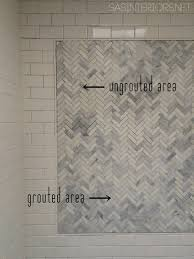 Grout Kitchen Backsplash by Bathroom Makeover Diy Tips U0026 Tricks On How To Tile Grout A