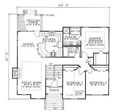 Atrium Ranch Floor Plans 1930s Home Plans House Plans