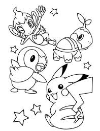 cute pokemon pikachu coloring pages cartoon coloring pages of