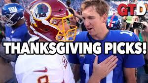nfl thanksgiving day picks w paul bovi time decisions