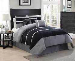 Charcoal Duvet Cover King Bedroom Dark Grey Comforter Set Charcoal Sets Queen Yatour Info