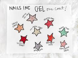 nails inc gel polish hello to beauty