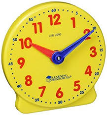 time learning clock learning resources big time student clock 12 hour