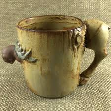 Tree Mug Moose Through A Tree 3d Figural Mug Mug Barista