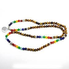 bracelet life images Tree of life 7 chakra tiger eye beaded bracelet the yoga mandala jpg