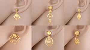 new fashion gold earrings gold earrings designs with weight today fashion