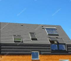 energy saving concepts in new building energy efficiency roof
