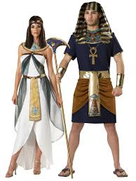 egyptian couples costume in character costumes halloween