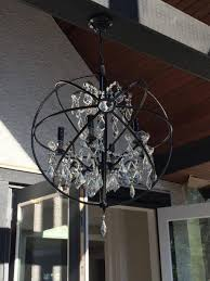 Sphere Chandelier With Crystals Chandelier Orb Chandelier Sphere Chandelier Hanging