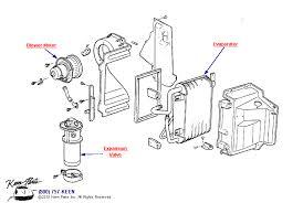 keen corvette 1953 2017 corvette ac evaporator parts parts accessories for