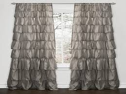 Luxury Grey Curtains Shower Curtains Gray Ruffle Shower Curtain Inspirational Gray