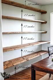 kitchen wall shelving ideas wall shelves best wall shelving ideas on wall shelves wood