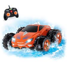 amphibious car amazon com kidirace amphibious remote control car orange 360