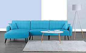 Mid Century Modern Style Sofa Mid Century Modern Style Linen Fabric Sleeper Futon