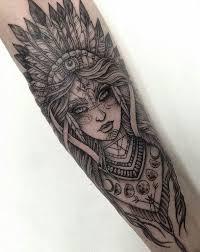 indian headdress tattoo on ribs tattoo indianerin kämpferin nativ mond sleeve ink pinterest