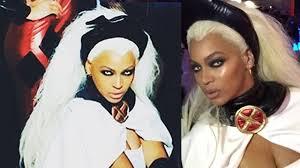 Beyonce Halloween Costumes Beyonce Slays Men U0027s U0027storm U0027 Ciara U0027s Halloween Bday Party