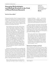 hesse biber sharlene pdf qualitative research quantitative