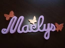 prenom en bois pour chambre lettres attachées bois naturel papillon prénoms en bois plaque de
