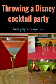 a disney cocktail party