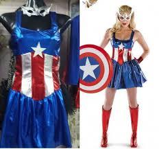 Marvel Female Halloween Costumes Shop Fancy Marvel Avengers Superhero Captain America