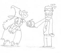 witch frankenstein coloring pages hellokids