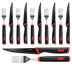 judge spada 12 piece steak and fork set jsd42
