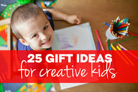25 gift ideas for creative kids