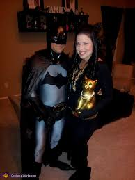 Batman Costume Spirit Halloween Batman U0026 Catwoman Couple Halloween Costume
