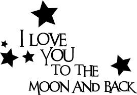 11 images of i love you to the moon and back coloring pages
