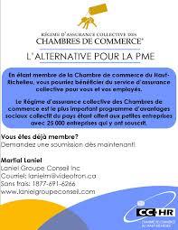 assurance chambre de commerce régime assurance chambres chambre de commerce et de l industrie