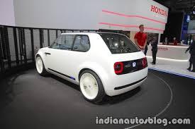 Honda Urban Honda Urban Ev Concept Rear Three Quarters Indian Autos Blog